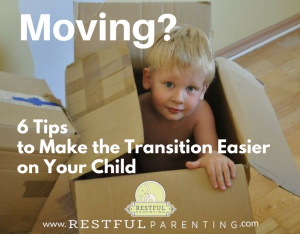Moving-tips to help your child transition