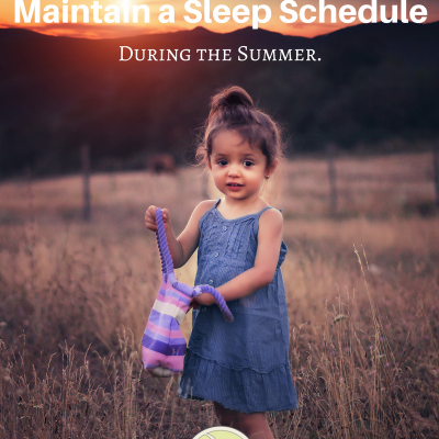How to Maintain a Sleep Schedule During the Summer